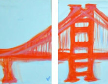 Teal SF Bridge