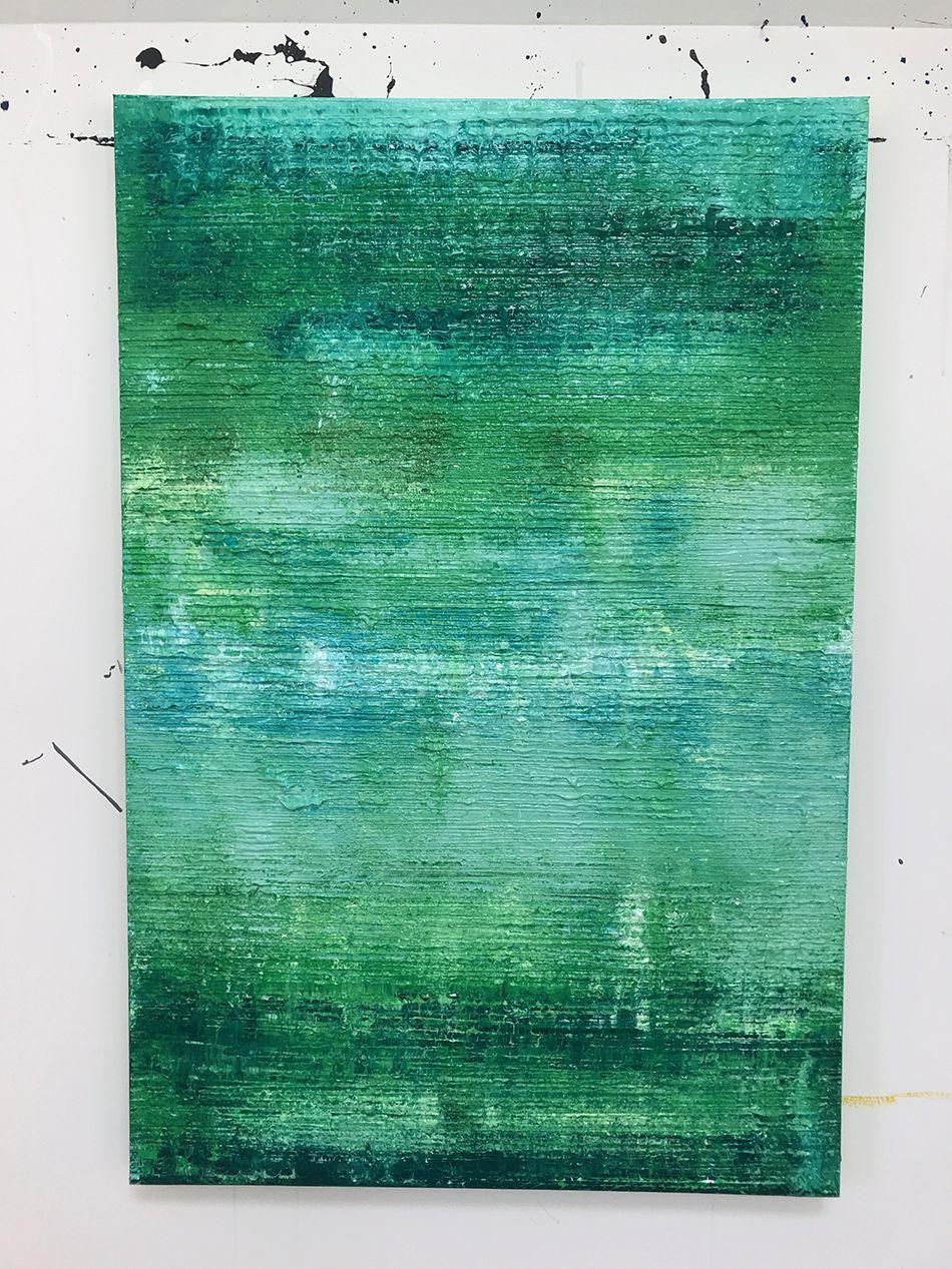 Green White Texture
