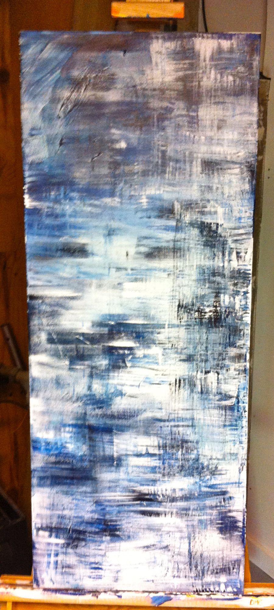 White Blue Texture